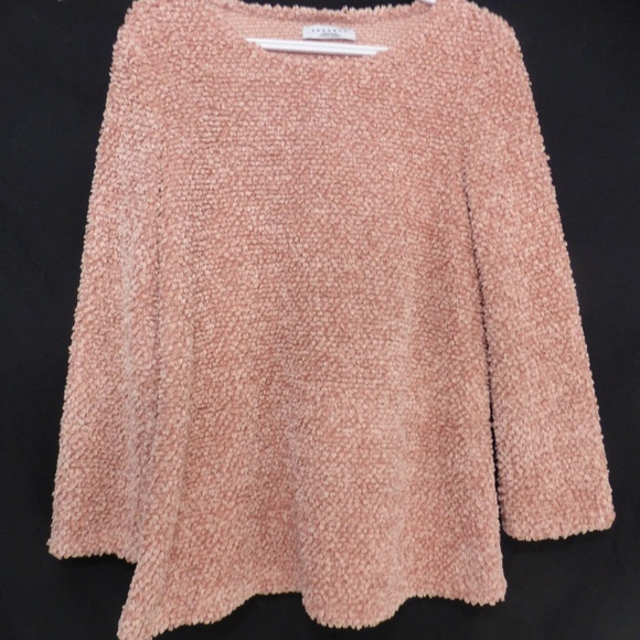 LANGBAO long sleeve chenille knit sweater GUC
